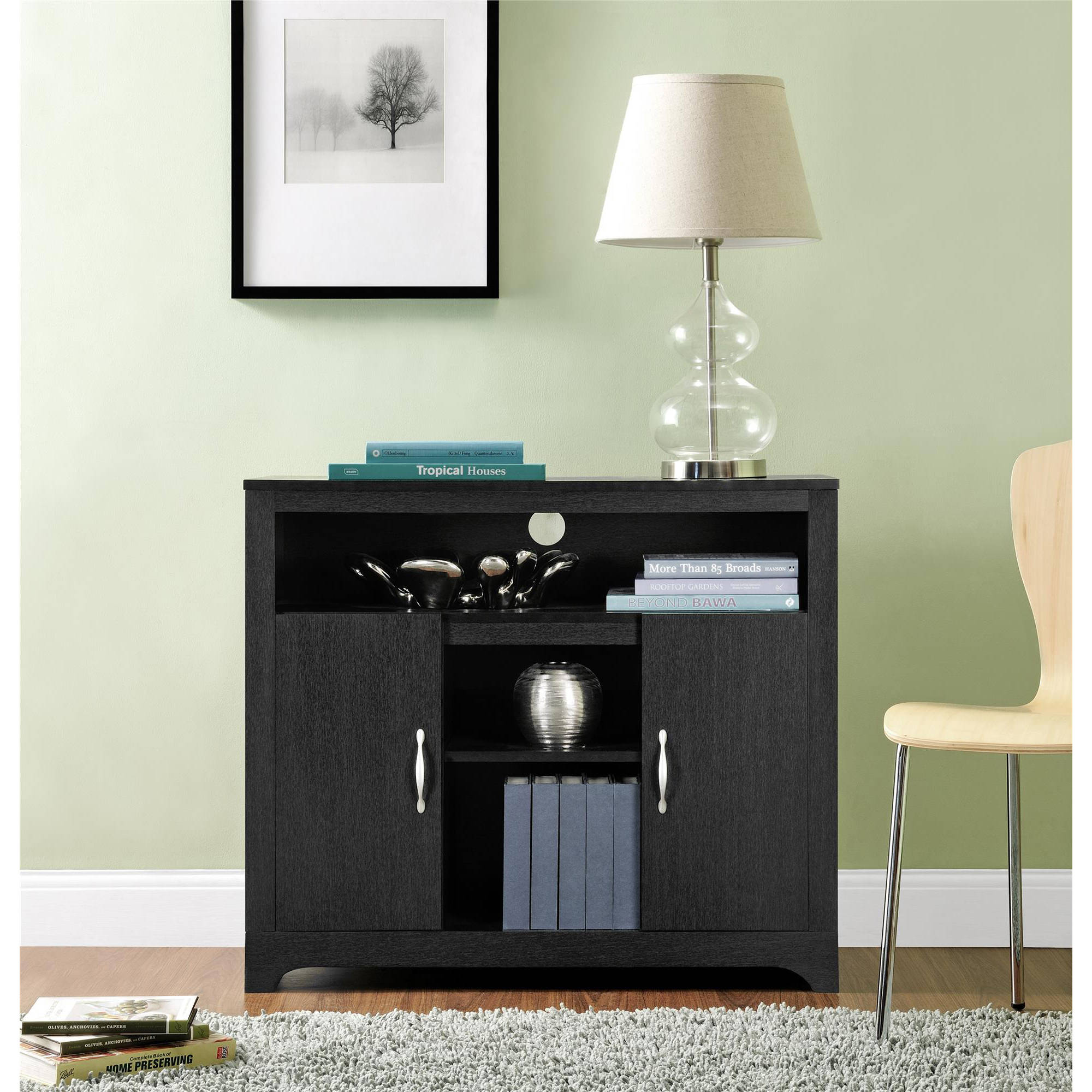 Altra Woodland Storage Cabinet, Black