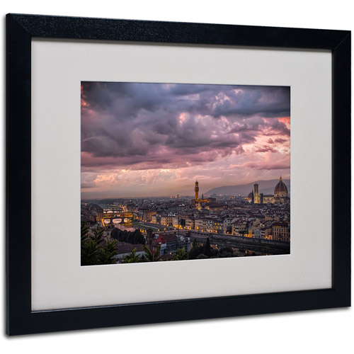 "Trademark Fine Art ""After the Storm"" by Giuseppe Torre, Black Frame"
