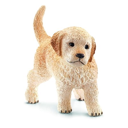 Puppy Golden Retriever Toy FigureHighly Detailed By