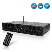 Best Home Stereo Receivers - PYLE PTA66BT - Bluetooth Audio Amplifier, 6-Ch. Audio Review
