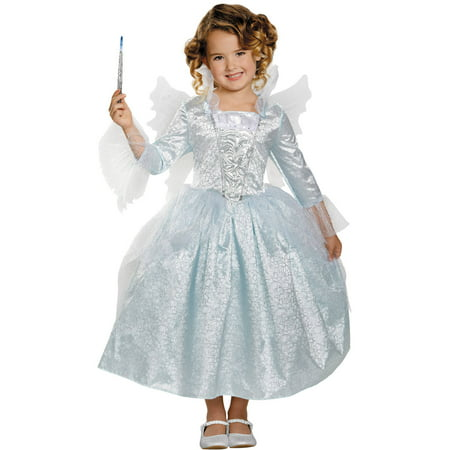 Fairy Godmother Deluxe Child Halloween Costume](Dead Fairy Costume Halloween)