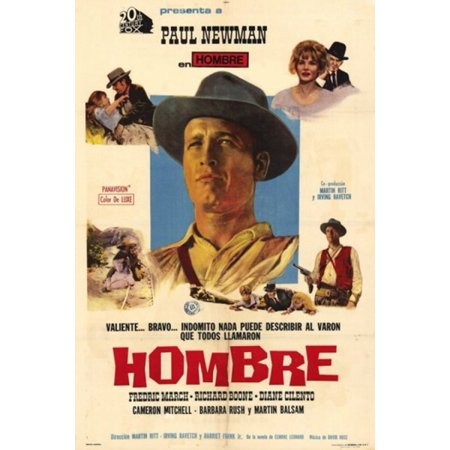Hombre Movie Poster (11 x 17)