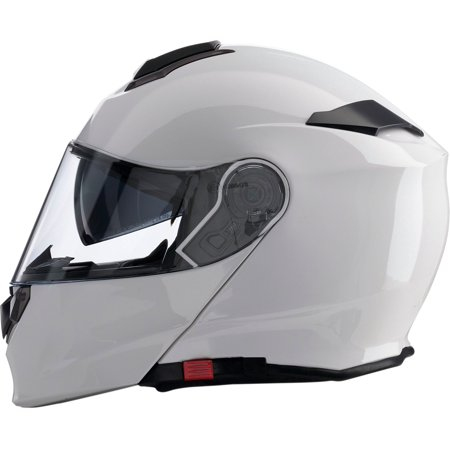 Z1R Solaris Solid Color Modular Helmet White 2XL  0101-10041
