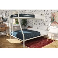 DHP Twin Over Full Metal Bunk Bed Frame