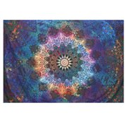 "83""X57"" Indian Tapestry Wall Hanging Mandala Throw Hippie Bedspread Gypsy Blanket"