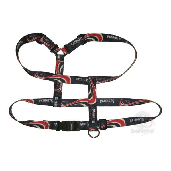 New England Patriots Pet Harness - X-Small