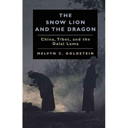 Snow Lion   The Dragon  China  Tibet    The Dalai Lama