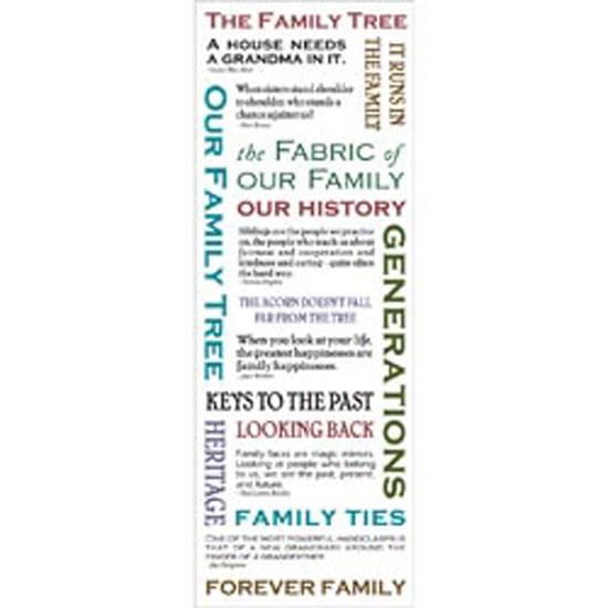 Family Tree - Momenta Vellum Stickers
