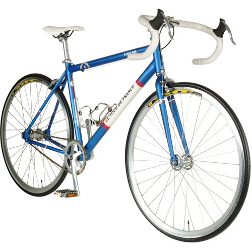Cycle Force Tour de France Stage One Vintage Blue 51cm Fixed Gear Bicycle