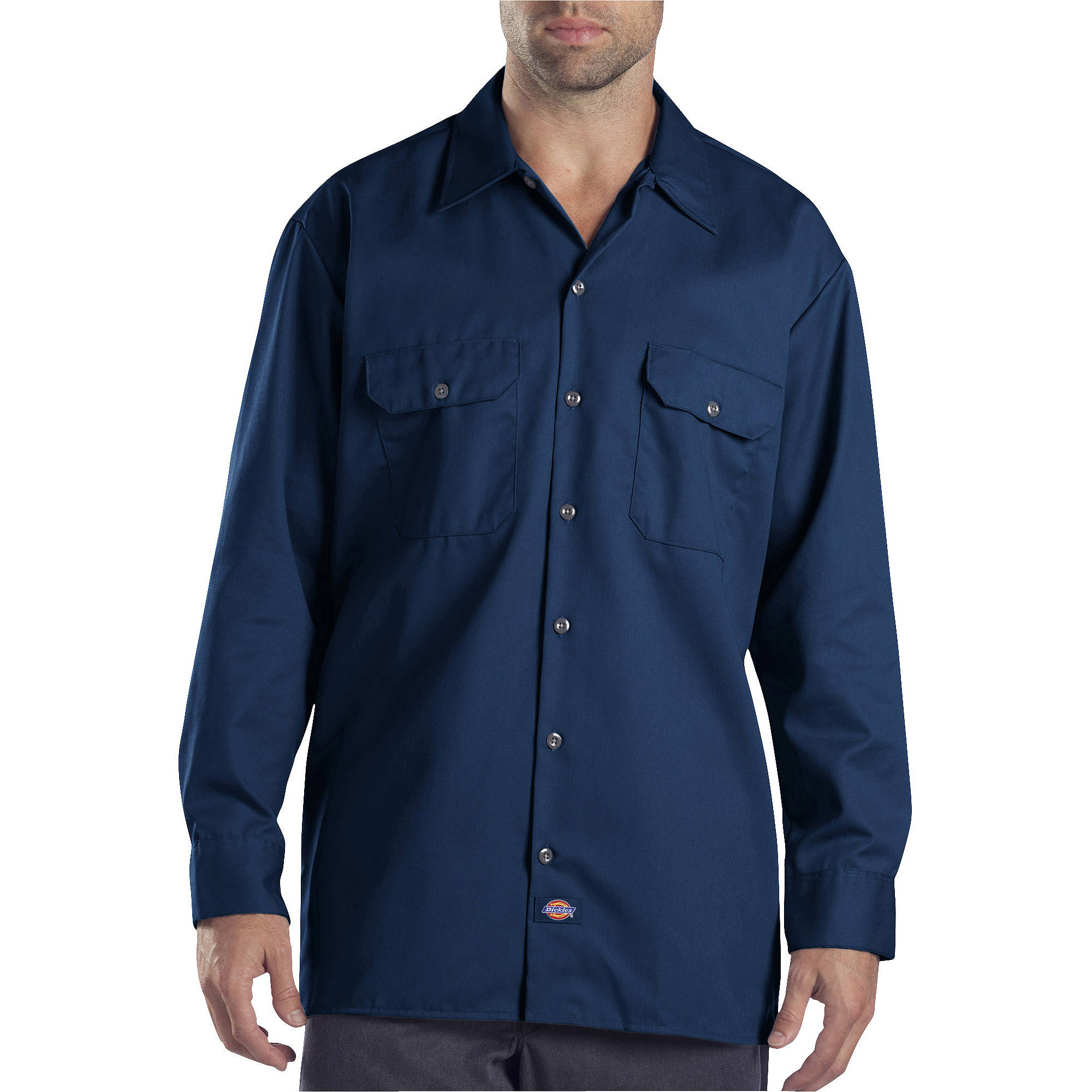 Dickies Men's Long Sleeve Twill Work Shirt