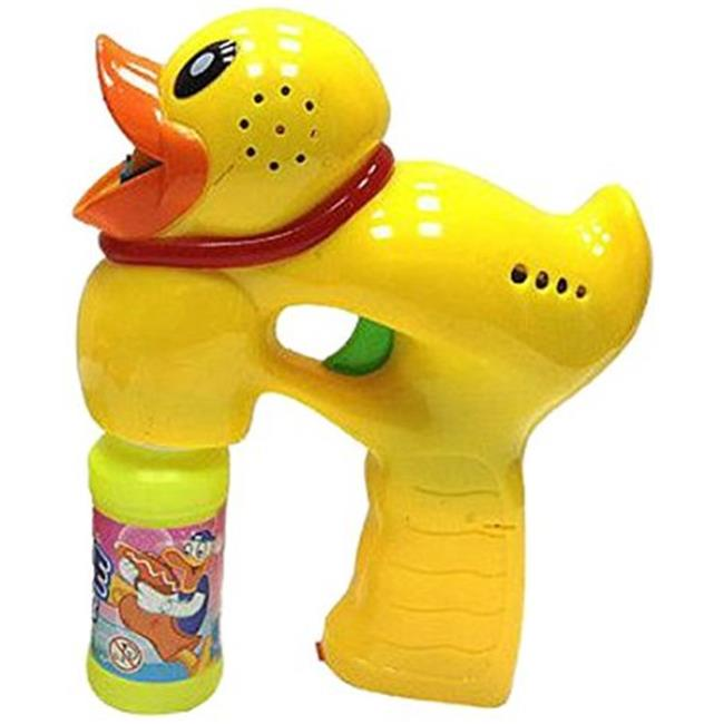 WeGlow International 18GGB26 Light Up Duck Bubble Gun - Set Of 2