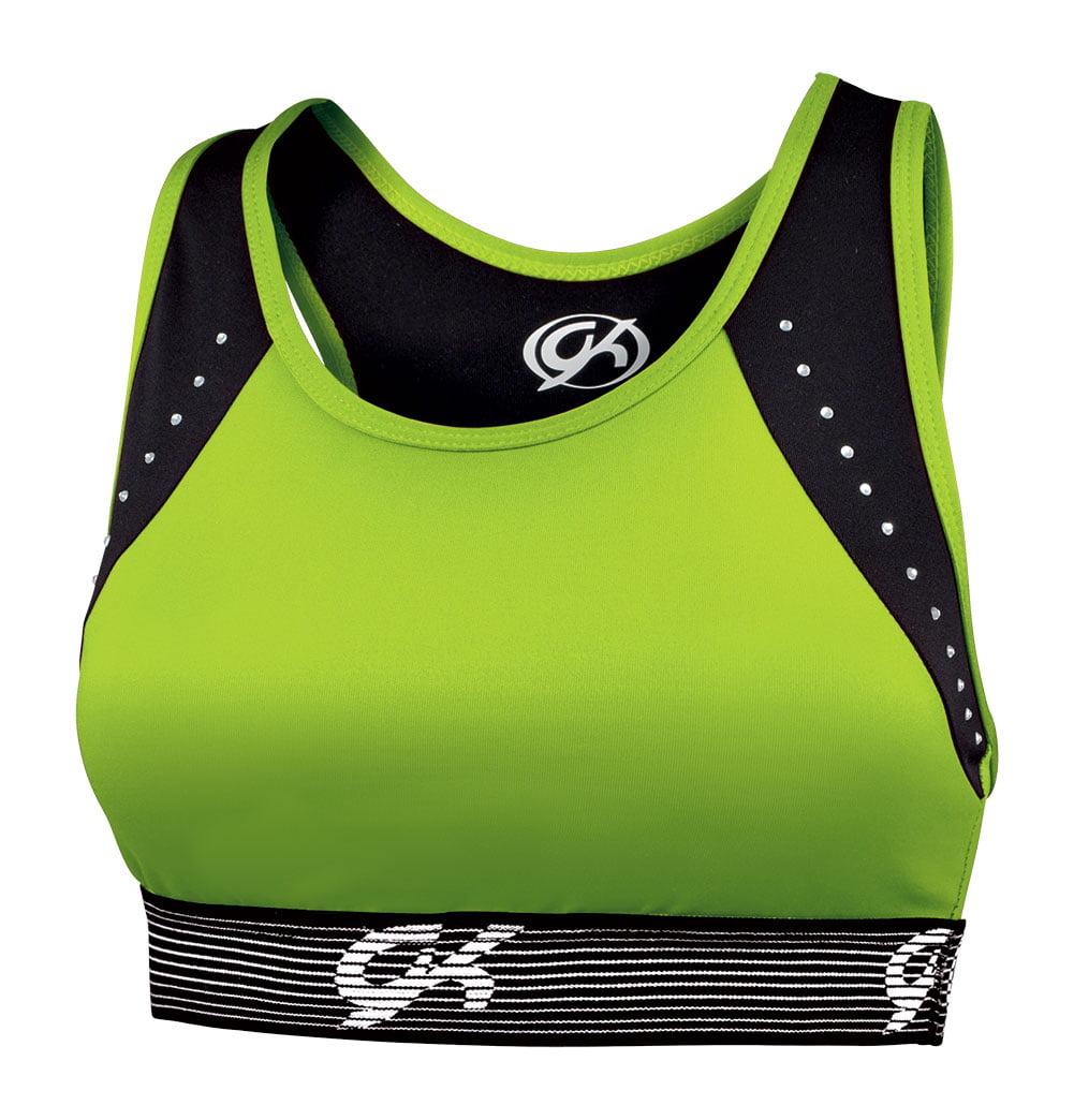 41d886a78231c GK Elite - GK Elite Radiate Rhinestone Cheerleading Practice Sports Bra - -  Youth - Walmart.com