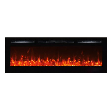 Mainstays Freestanding Or Wall Mounted Electric Fireplace