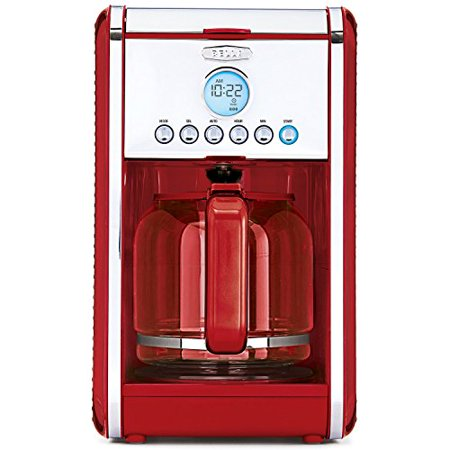 - Coffee Maker Programmable Auto Safe Shut Off 900 Watt Brewing System Red 12 Cup