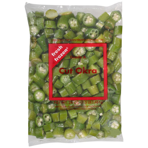 Fresh Frozen Cut Okra, 24 oz