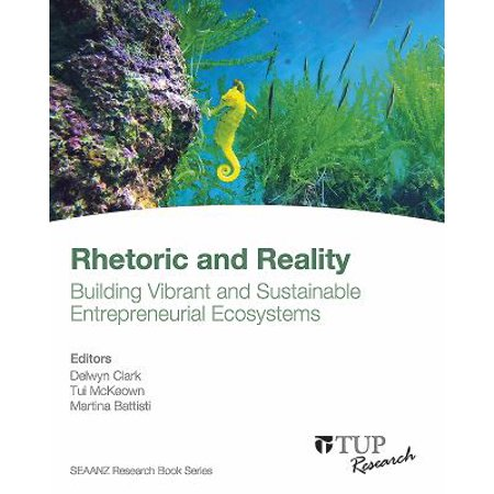 Rhetoric And Reality  Building Vibrant And Sustainable Entreprenurial Ecosystems