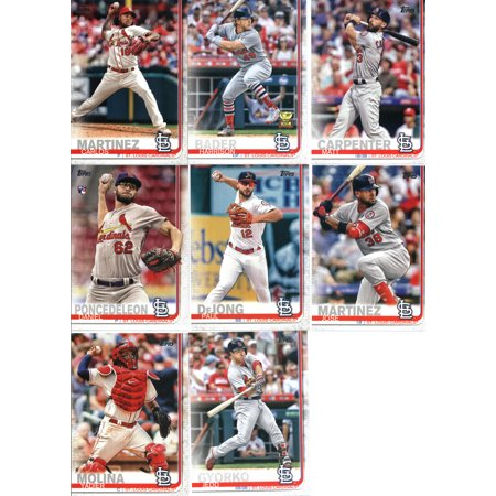 2019 Topps Series 1 Baseball St Louis Cardinals Team Set Of 14 Cards