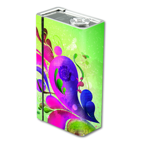 Skin Decal Wrap for Smok Xcube BT50 mod skins sticker vape Pastel Flourishes