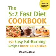 The 5:2 Fast Diet Cookbook : 150 Easy Fat-Burning Recipes Under 300 Calories