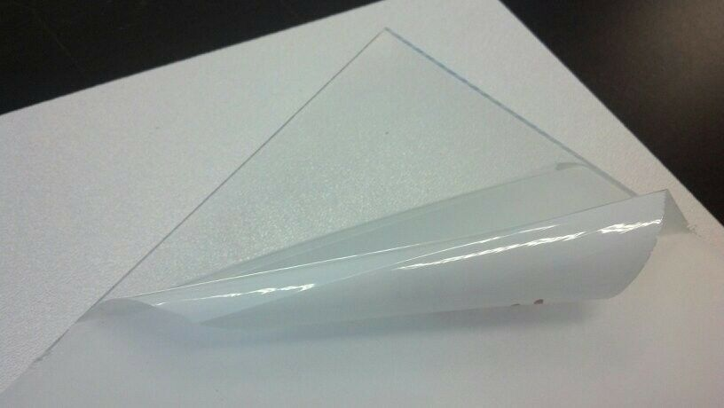 "Sibe-R Plastic Supply℠ CLEAR PETG PLASTIC SHEET .020/"" 12/""X12/"" ^ 4 Pack"