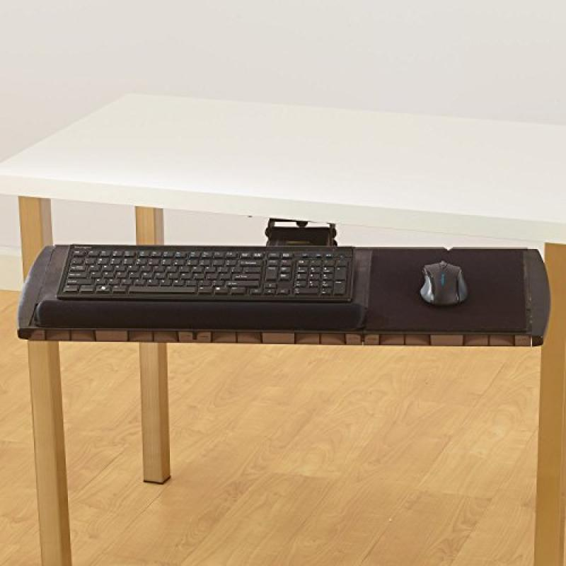 Kensington Long Neck Modular Platform with SmartFit System, Wrist Rest (K60719US) by Kensington