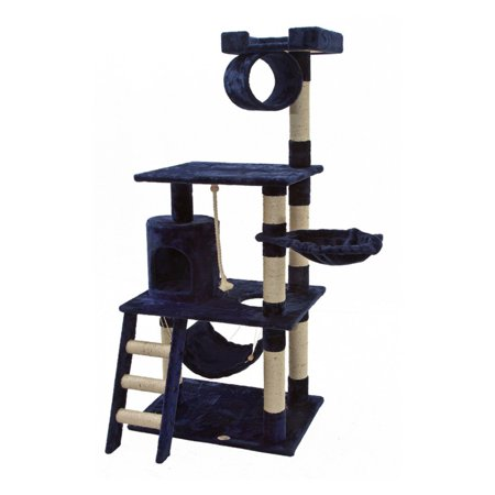 Go Pet Club Cat Tree Furniture 62 In  High