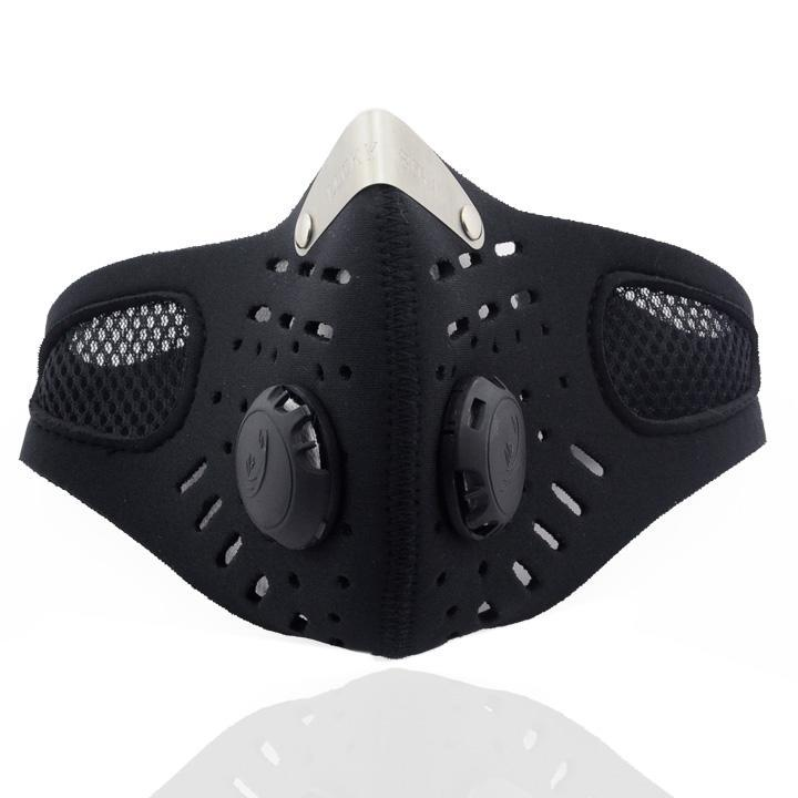 Ski Anti-pollution Face Mask SportMotorcycle Mouth-muffle Dustproof With Filter WLT by