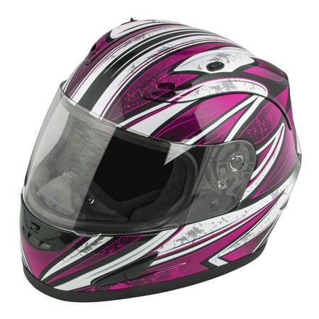 RAIDER OCTANE FULL FACE HELMET - PINK - 2XL (Best Full Face Motorcycle Helmet Under 100)