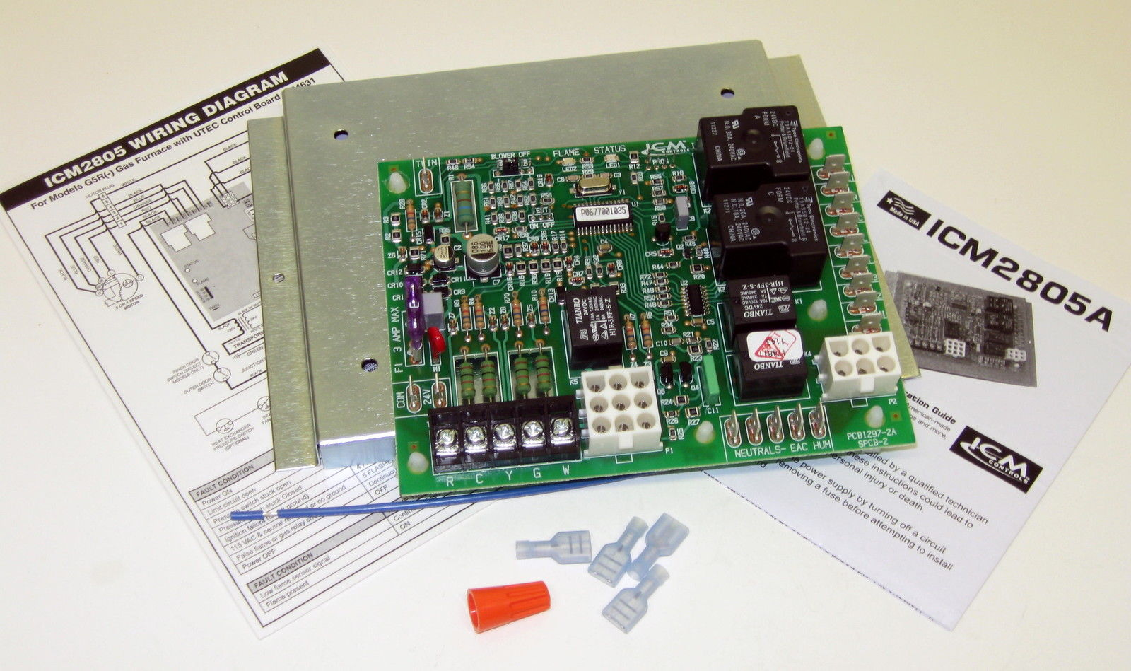 ICM Controls ICM2805 Replacement Furnace Control Control ... on