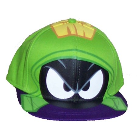 Looney Tunes - Baseball Cap - Looney Tunes - Marvin the Martian Face New  504637 - Walmart.com 874e5f4c146