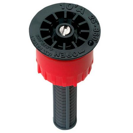 Orbit 10' Radius Adjustable Pattern Female Thread Pop-Up Sprinkler Spray Nozzle