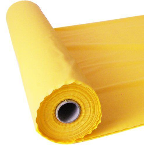 Yellow 100FT Plastic Buffet Banquet Roll Wedding Party Table
