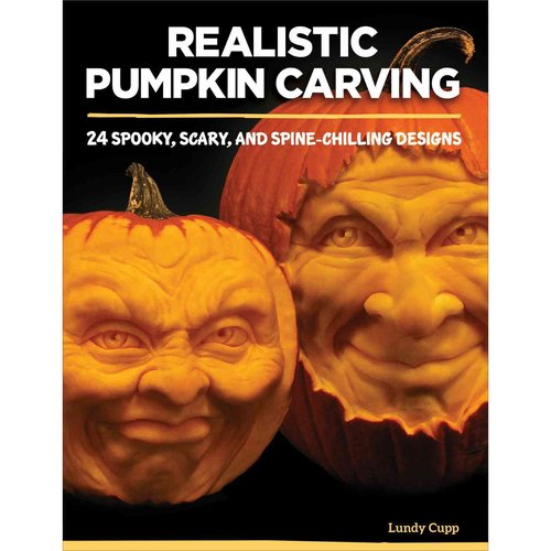 Realistic Pumpkin Carving: 24 Scary, Spooky, and Spine-Chilling Designs