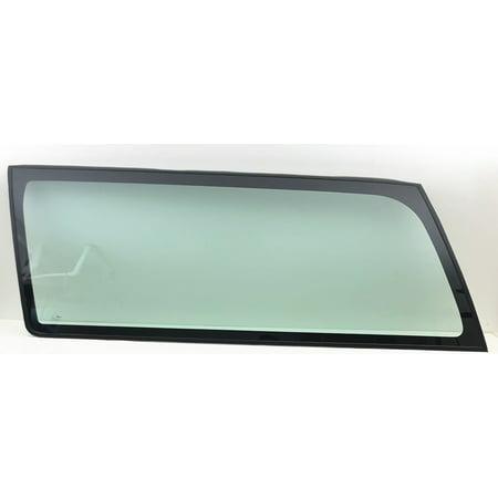 Blower Door (Fits 93-94 Chevrolet Blazer 95-99 Tahoe 2 Door Utility Driver Left Side Quarter Window Glass)