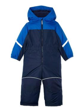 Wonder Nation Toddler Boy One-Piece Snowsuit