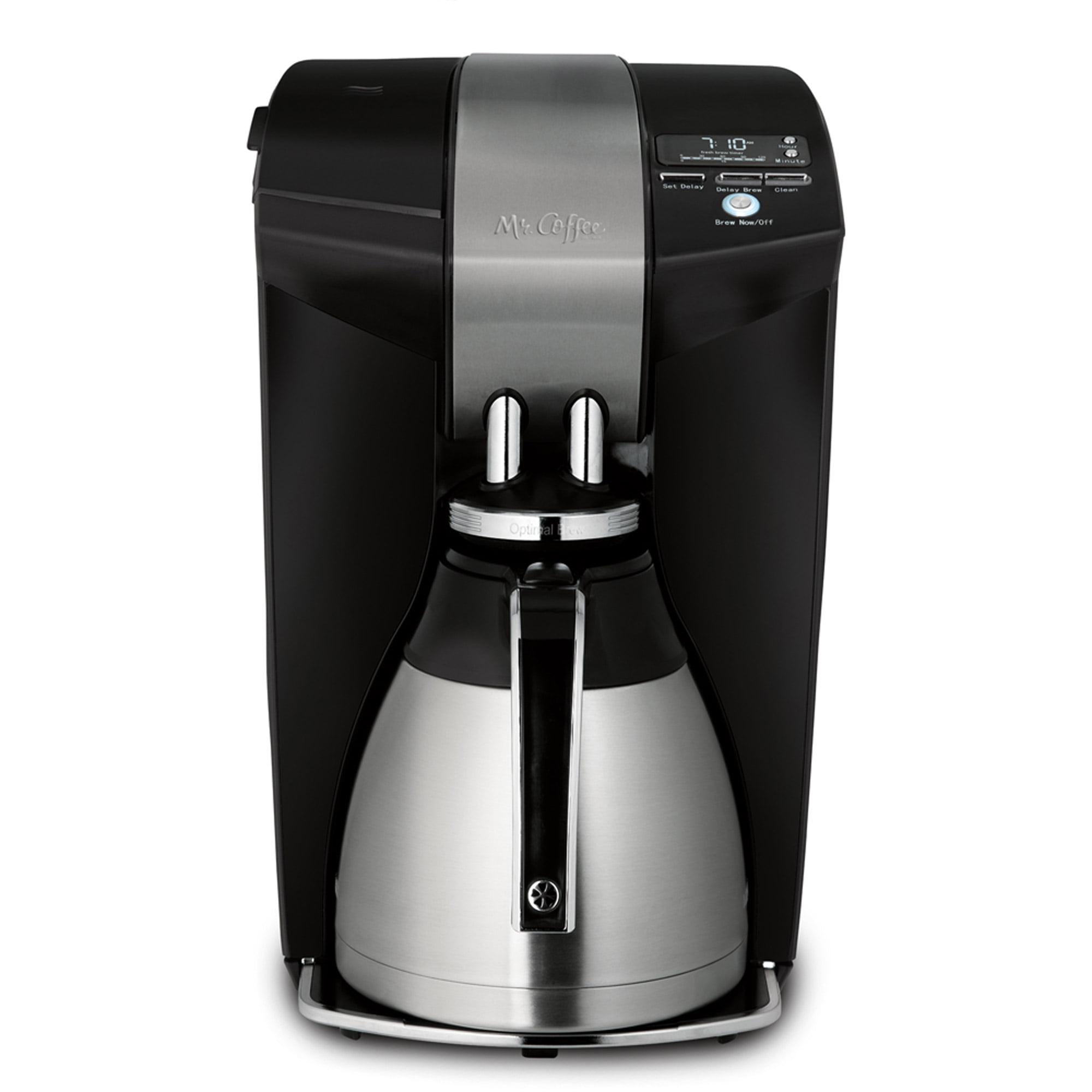 Mr. Coffee Optimal Brew 12-Cup Thermal Coffeemaker, BVMC-SCTX91WM