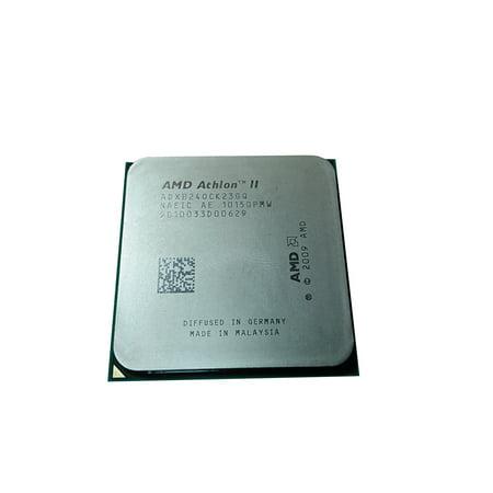 Refurbished AMD Athlon II X2 B24 3GHz Socket AM2+ 2000MHz Desktop CPU ADXB24OCK23GQ