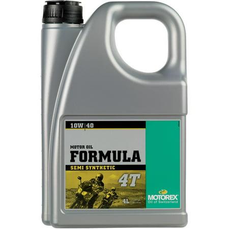 Motorex 102310  /196056 Formula 4T Oil - 10W40 - 4L.