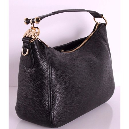 Michael Kors - NEW MICHAEL KORS PEBBLED LEATHER FULTON MEDIUM TZ SHOULDER  BAG CONVERTIBLE BLACK - Walmart.com d69051f116bb7