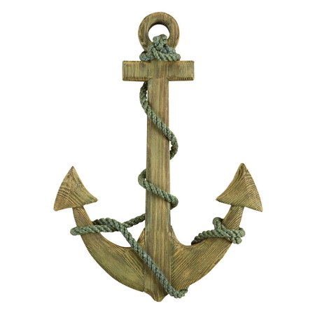 Wooden anchor wall decor for Anchor decor