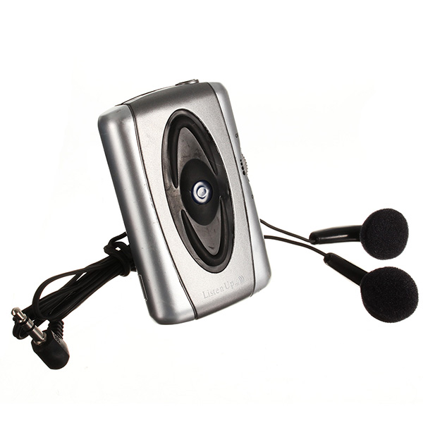 Sound Amplifier Listen Voice Hearing-Aid Listening Device Headset For Old Men
