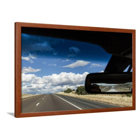 Car on Interstate Highway, Albuquerque, New Mexico Framed Print Wall Art By Paul (Albuquerque New Mexico Mall)