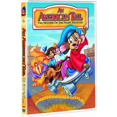 An American Tail: The Mystery Of The Night Monster (DVD + Pumpkin Stickers) (Anamorphic Widescreen)