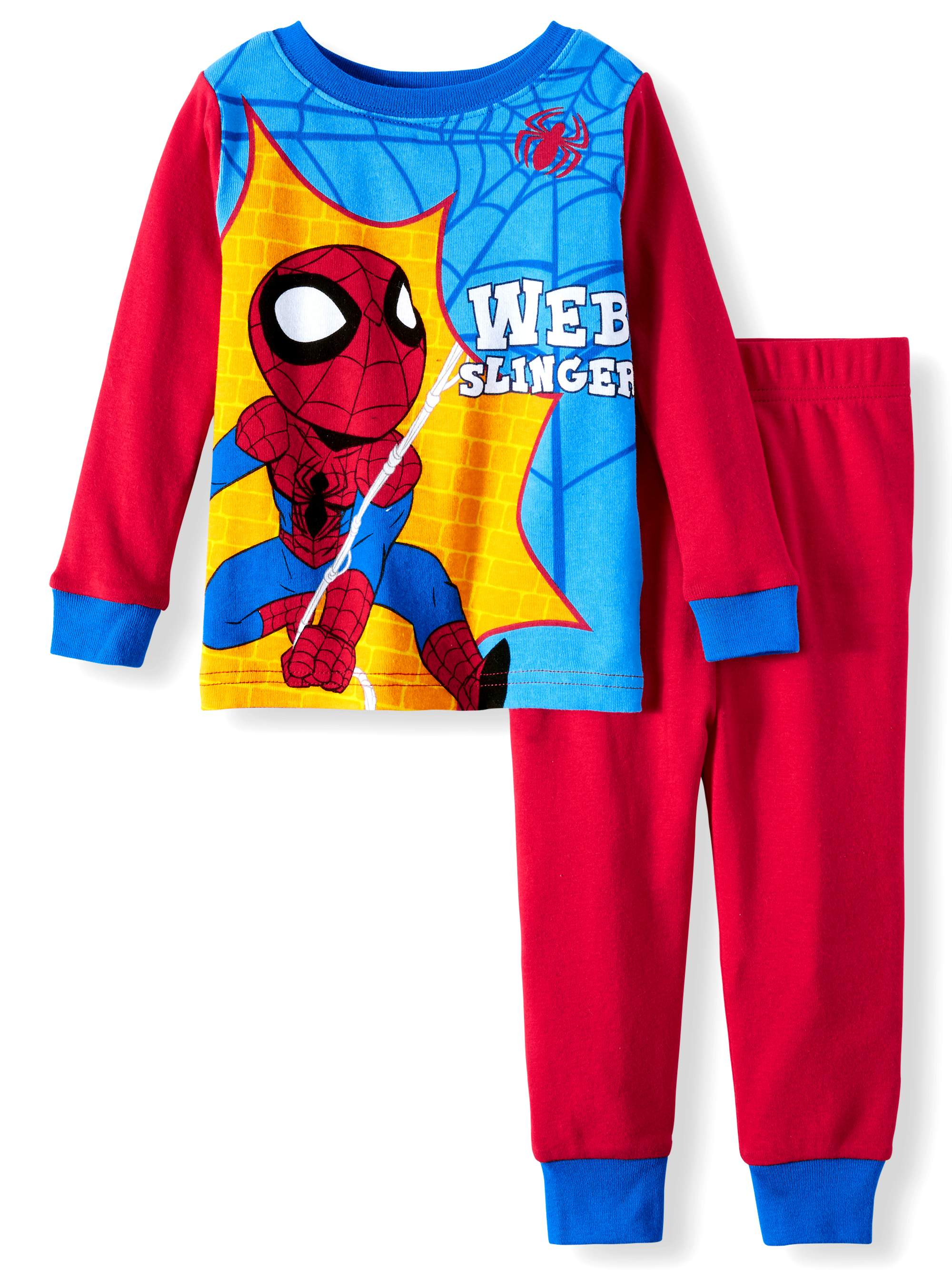 Spiderman Pajamas, 2pc Set (Toddler Boys)