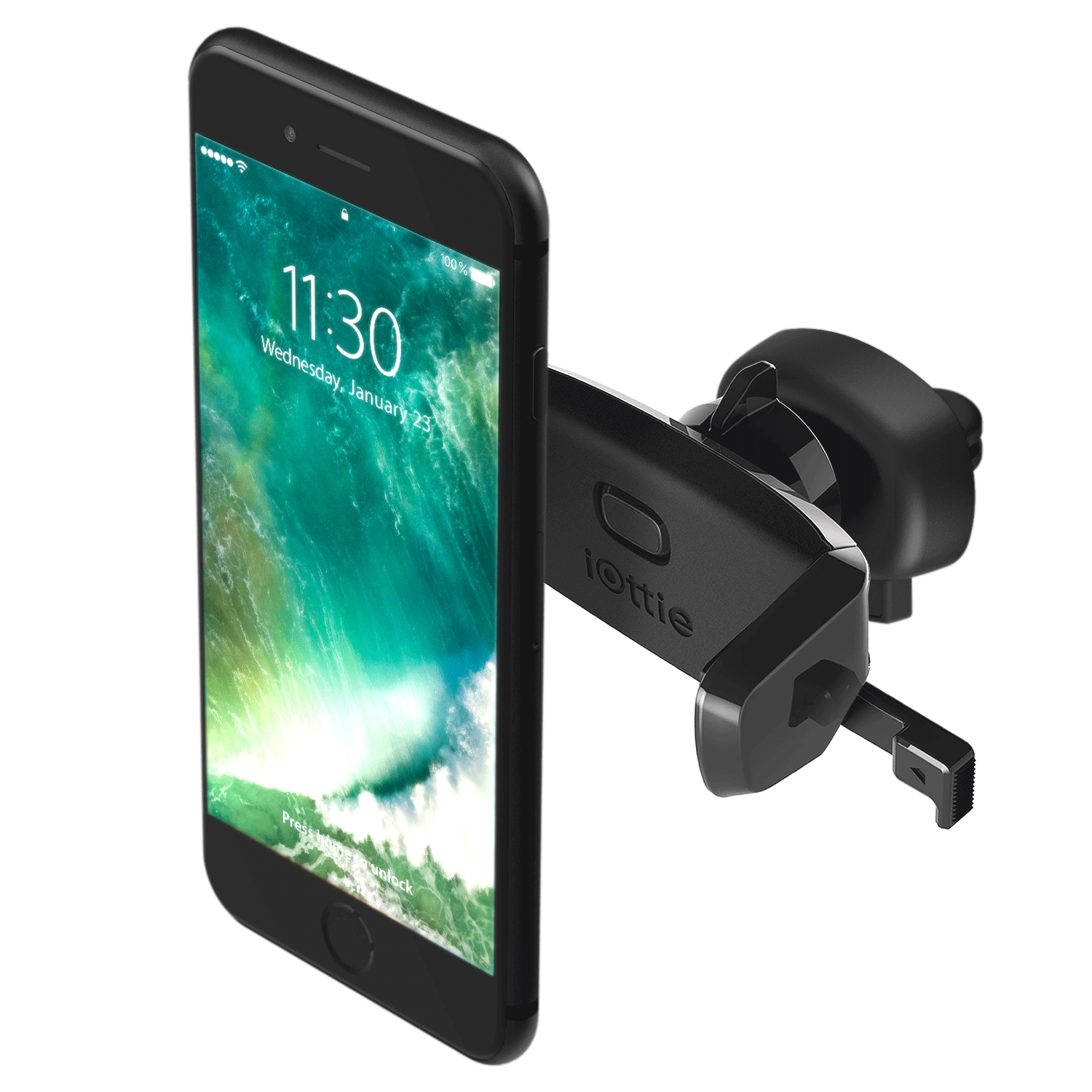 Iottie Easy One Touch Mini Air Vent Car Mount Holder Cradle For