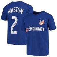 Kendall Waston FC Cincinnati Youth Name & Number T-Shirt - Royal