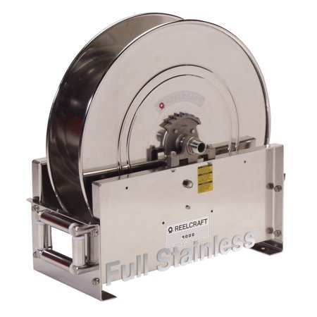 Reelcraft D9300 Oms S 3 4  X 50 Ultimate Duty Stainless Hose Reel  3000 Psi No Hose