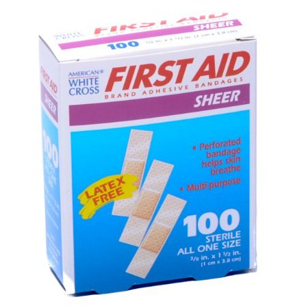 Johnsons Plastic Bandages (Bandage Junior Size Plastic 3/8 X 1 1/2 100/box )