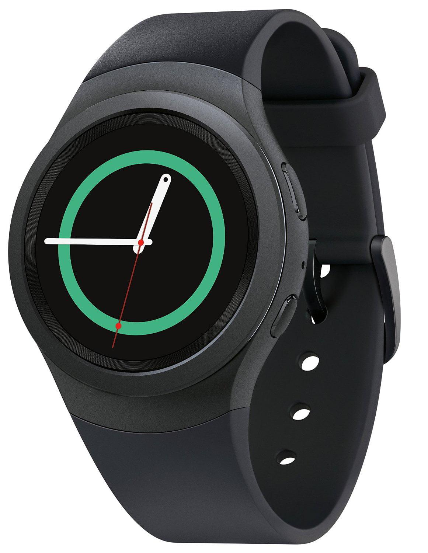 SAMSUNG Gear S2 Smart Watch Dark Gray - SM-R7200ZKAXAR