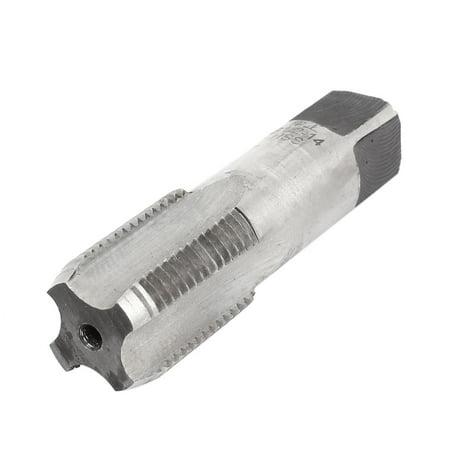 Hss Straight Pipe Tap (Unique Bargains G 1/2-14 BSP 55 Degree Pipe Thread HSS Plug Tap 4 Straight)